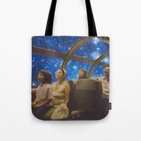 Space Holiday Tote Bag