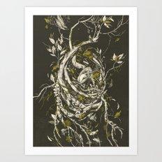The Mangrove Tree Art Print