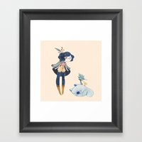 Fiora Framed Art Print