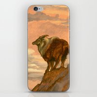 Tahr On The Tops iPhone & iPod Skin