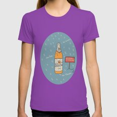 Berliner Kindl Womens Fitted Tee Ultraviolet SMALL
