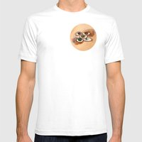 EyesScope Mens Fitted Tee White SMALL
