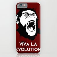 iPhone & iPod Case featuring VIVA LA EVOLUTION by The Vector Studio