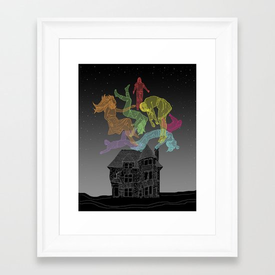 Sleep Paralysis Ball  Framed Art Print