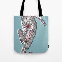 Seahorse #2 Tote Bag