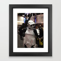 Rock On Scout Trooper, Rock On!!! Framed Art Print
