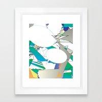 Color #6 Framed Art Print