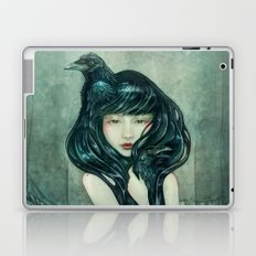 Oracle of the sodden raven Laptop & iPad Skin