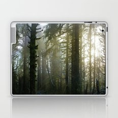 Foggy Forest #evergreen Laptop & iPad Skin