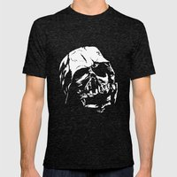 The Dark Side Mens Fitted Tee Tri-Black SMALL