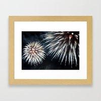 Fireworks - Philippines 10 Framed Art Print