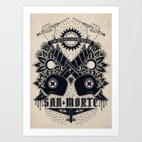 San Morte Art Print
