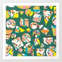 Schema 20 Art Print