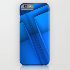 Clean Lines (Blue) Slim Case iPhone 6s