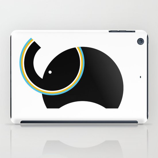 Retro Elephant iPad Case