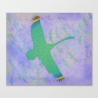 Feathered Dreams Canvas Print