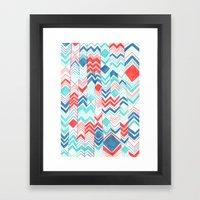Pattern 31 Framed Art Print