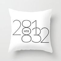 OUTER TOWNERS Throw Pillow