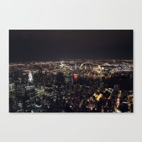 From The Empire State Bu… Canvas Print
