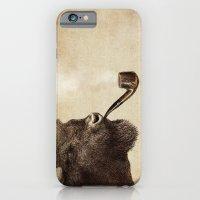 smoke iPhone & iPod Cases featuring Big Smoke by Eric Fan
