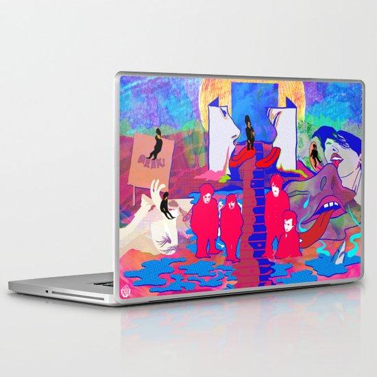 """""""m b v"""" by Steven Fiche Laptop & iPad Skin"""