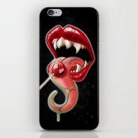 Tongue And Fang iPhone & iPod Skin