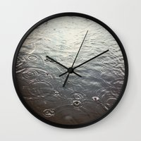 Raindrop #1 Wall Clock