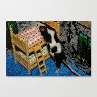 Mouse House Canvas Print
