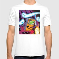The Legend Of Gameboy Mens Fitted Tee White SMALL