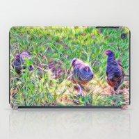 Hens In A Field iPad Case