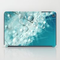 Dandy Starburst in Blue iPad Case