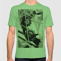 Spokeh Mens Fitted Tee Grass SMALL