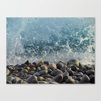 Splash Of Waves Canvas Print