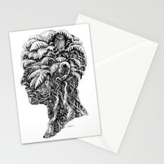Portrait of Winter Stationery Cards