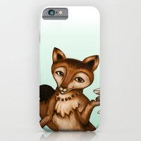 iPhone & iPod Case featuring Foxy by Lori Dean Dyment