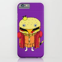 iPhone & iPod Case featuring royale with cheese by motorbot