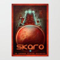 Visit Skaro! Canvas Print