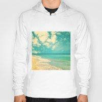 Retro Beach And Turquois… Hoody