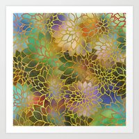Floral Abstract 3 Art Print