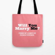 Marry Me Tote Bag
