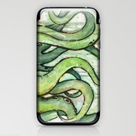 Cthulhu Green Tentacles iPhone & iPod Skin