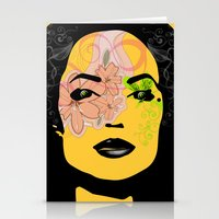 Mysterious Woman 1 Stationery Cards