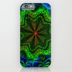 Slime Fractal Flower iPhone 6 Slim Case