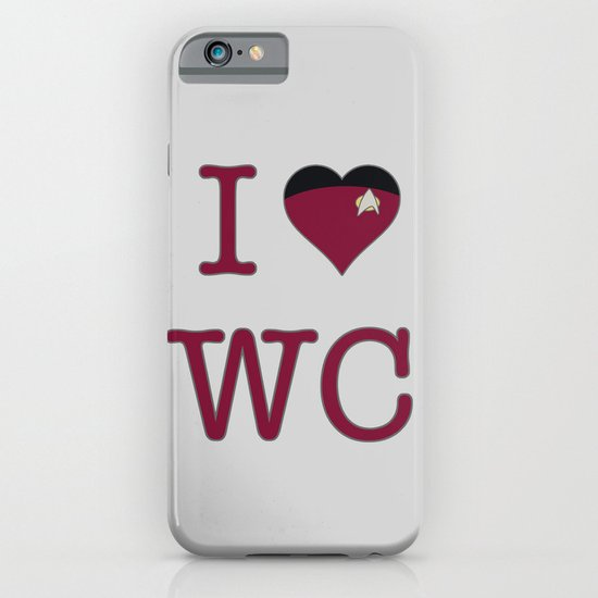 I Heart Wesley Crusher iPhone & iPod Case