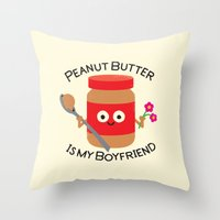 Don't Be Jelly Throw Pillow