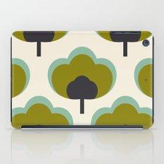 green flowers iPad Case
