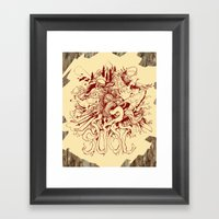 SUOC-Wood Framed Art Print
