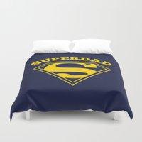 Superdad | Superhero Dad… Duvet Cover