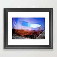 experi-mental 02 Framed Art Print