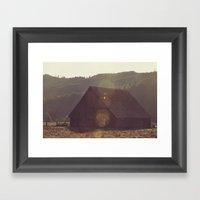 Summer Fields | 04 Framed Art Print